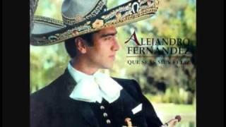Repeat youtube video Alejandro Fernandez   Que Seas Muy Feliz