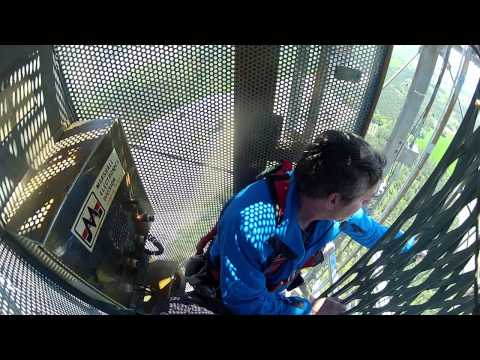 Throwing a GoPro off a TV Tower