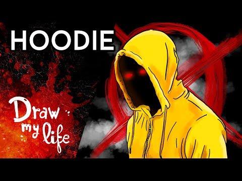 HOODIE, el chico OBSESIONADO con SLENDERMAN - Draw My Life en Español