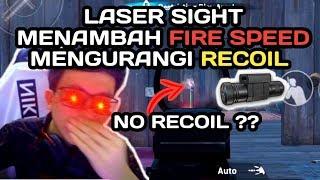 LASER SIGHT ATTACHMENT NO RECOIL DI 2019 ?? - PUBG MOBILE INDONESIA MP3