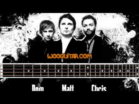 Muse Time Is Running Out Bass Cover Lesson With Tabs