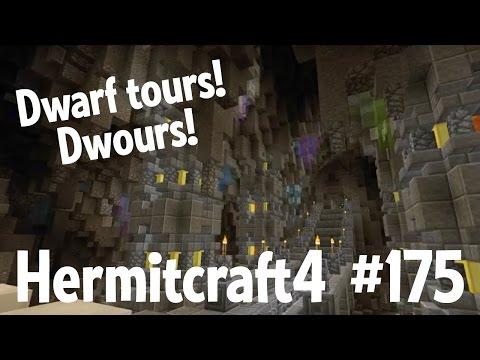 Dwarf tours! Dwours! — Hermitcraft 4 ep...