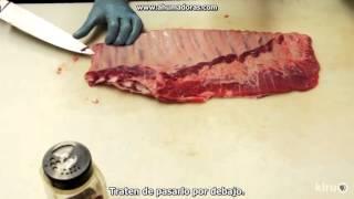bbq with franklin pork ribs part 1 subttulos en espaol
