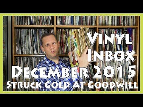 Vinyl Inbox December 2015, I Struck Gold At Goodwill!