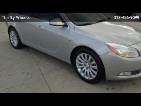2011 Buick Regal 4dr Sedan CXL RL3 (Russelsheim) *Ltd Avail*  - Southfield