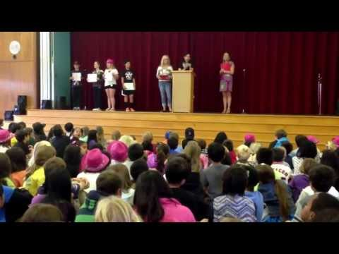Griffin wins the Heather Elementary School - Colt Award for Citizenship