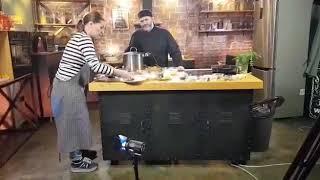Олег Ольхов с Марией Голубкиной