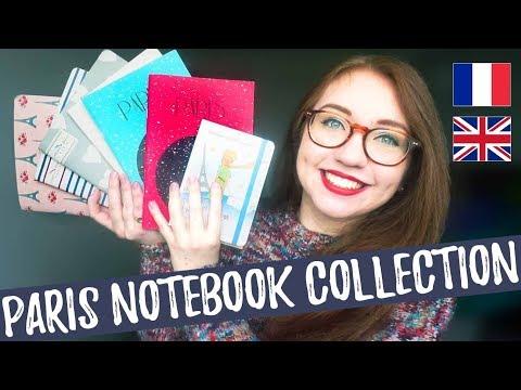 À propos de mes cahiers de Paris // About my Paris notebooks - French w/ English & French subtitles