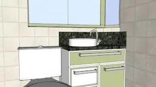 Apresentação de Projeto - Banheiro do Casal
