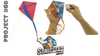 The Sonic Micro Kite: SonicDad Project #60
