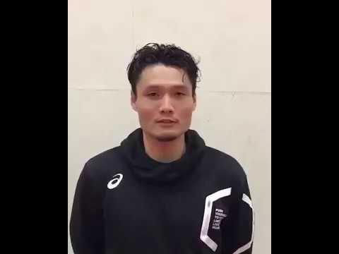 B LEAGUE 名古屋ダイヤモンドドルフィンズ 中務敏宏 選手 トライアンズ応援メッセージ