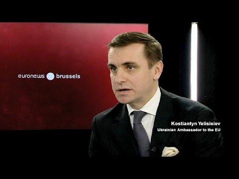 Less talk and more action, Ukraine envoy tells EU