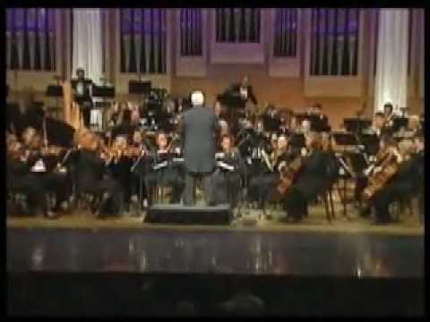 Somewhere in Time orchestra version, Conducted  Albert E Moehring