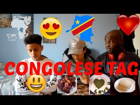 CONGOLESE TAG ( with my family)