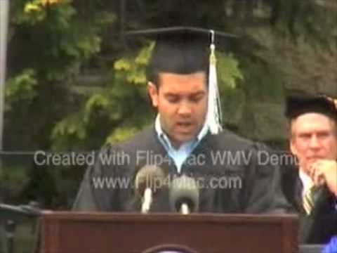 University of RI Commencement 2008 - Gabriel Mancuso