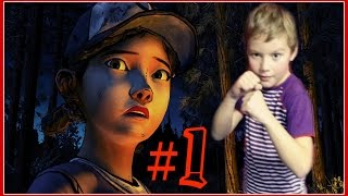 Stream | The Walking Dead 2 Прохождение ЭДВИНА - #1  Gameplay PS4 1080p 60fps