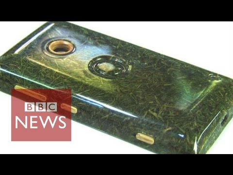 Would you buy a phone made with grass? BBC News