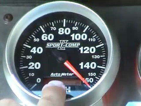 Auto Meter Programmable Electric Speedometer - YouTube