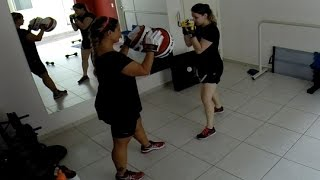 boxe feminino treino aerobico para emagracer estilo livre