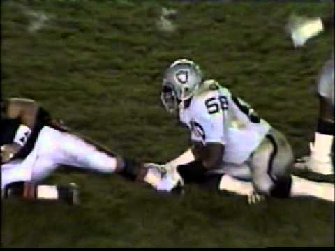 Raiders v Bears 1990 preseason- Lyle Alzado attempts NFL comeback