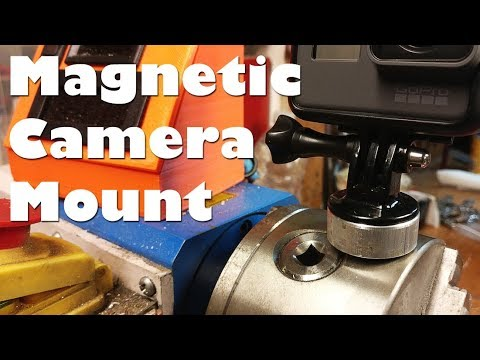 Thumbnail: Scrap Project - Magnetic GoPro Base / Camera Mount