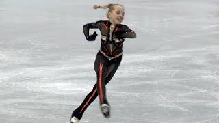 Елена Радионова 13 лет Короткая программа 06 12 2012