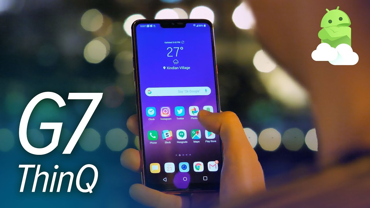 LG G7 ThinQ hands-on preview: All about that bass | Android