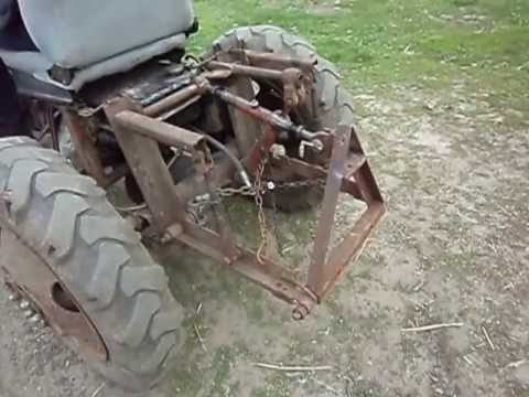 Как сделать навеску на трактор своими руками
