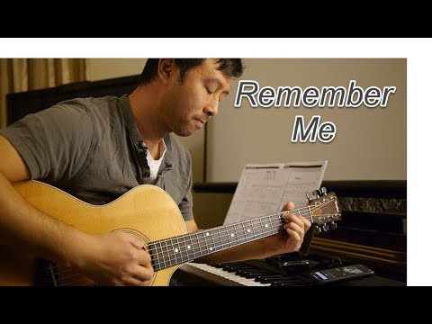 i igo pascual remember me from coco movie cover guitar with lyrics and chords youtube. Black Bedroom Furniture Sets. Home Design Ideas