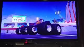 Disney Infinity 3.0 Toy box speedway Crystal Agent P vs Agent P