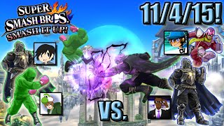 Super Smash Bros. - Smash It Up! (Wii U) - 11/4/15! Team Up, Throw Down!