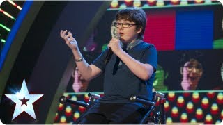 Jack Carroll with his self scripted stand up comedy | Semi-Final 2 | Britain's Got Talent 2013 thumbnail