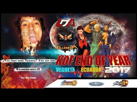 KOF End of Year 2017 KOF 2002 Matches: LDA    KGK Coneja (ECU) vs. Vegueta (PER)
