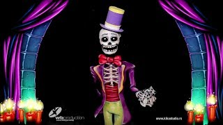 Skull - Bodypainting illusion for Hot Shot