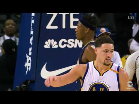 Klay Thompson wins the Top Performer of the Year Award | NBA on TNT