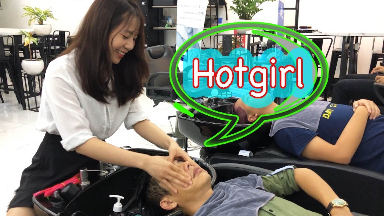 Em hotgirl đẹp ngất ngây tại 30Shine, vào đây cắt tóc được ngắm gái không lo vợ mắn