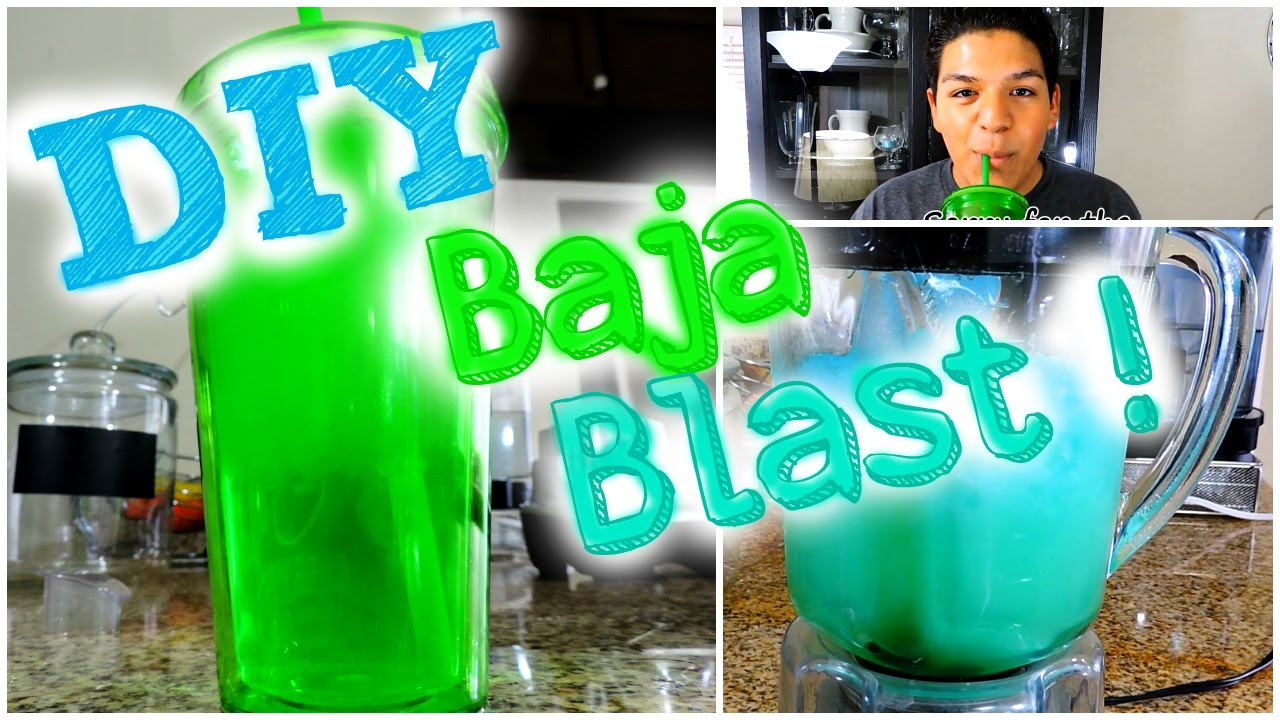 how to make baja blast freeze