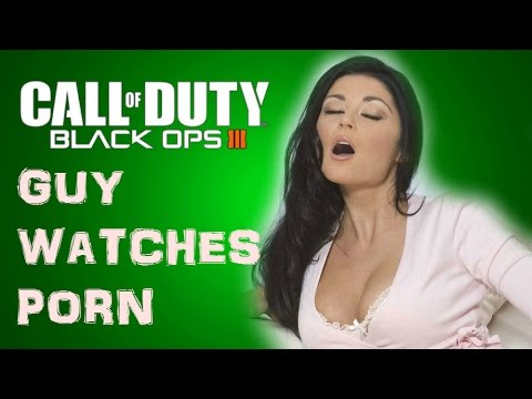 Guy Watches Porn! - Call Of Duty Black Ops 3 (hysterical laughing)