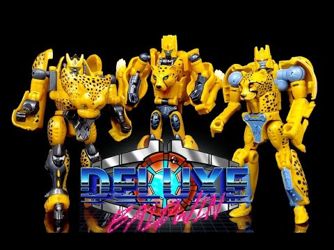 Transformer 10th Anniversary VS Universe VS Kingdom Cheetor! Review by Deluxe Baldwin