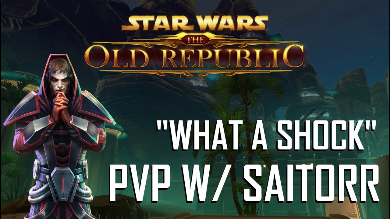 SWTOR PVP w/ SaiTorr #7: What a Shock (Assassin)