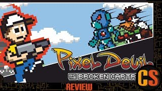 PIXEL DEVIL AND THE BROKEN CARTRIDGE - PS4 REVIEW (Video Game Video Review)