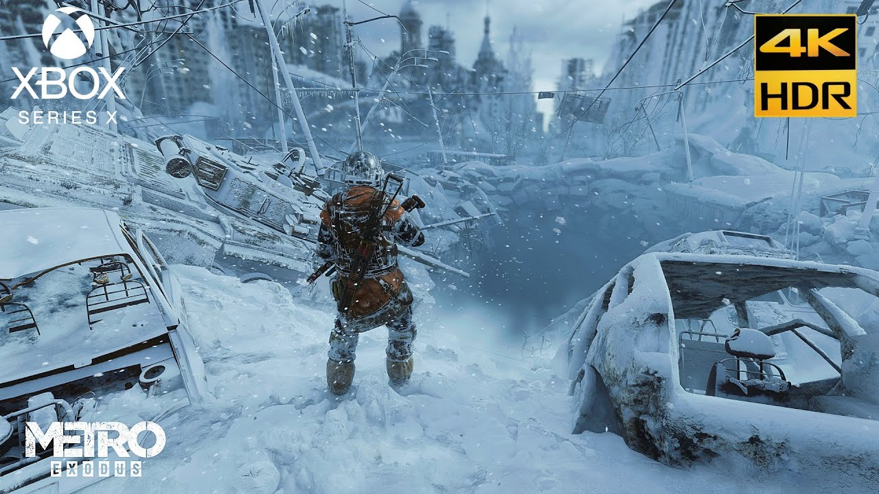 Metro Exodus  [Xbox Series X 4K HDR ] Gameplay Moscow Video 60fps