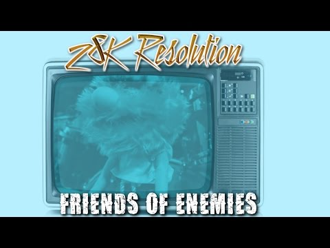 Fightstar - 28k Resolution - Music Video ( Friends of Enemies Cover ) Official