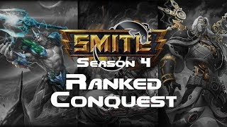 Smite - Ranked Conquest With Healbulance (Qualifying) - Ravana Solo Season 4