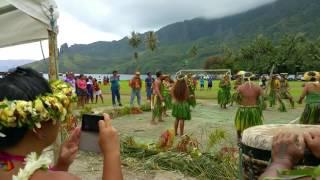 Dances marquisiennes à PUAMAU