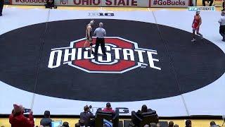 157 LBs: Jake Tucker (Michigan State) vs. #8 Ke-Shawn Hayes (Ohio State) | Big Ten Wrestling