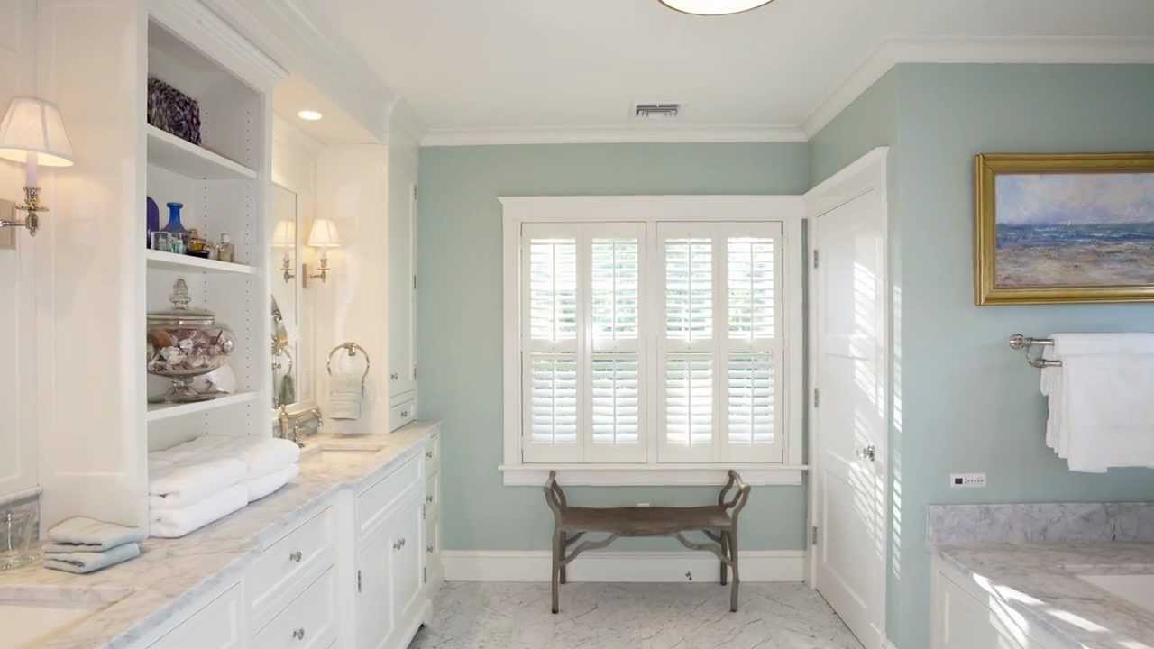 Master suite features traditional white and gray marble for How to make teal paint
