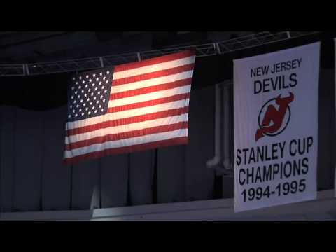 5f8a01d7b Kristine Rommel Sings the National Anthem for the NHL NJ Devils ...