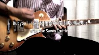 THE BEATLES : Savoy Truffle - KARAOKE cover