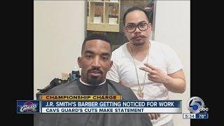 The Cav's J.R. Smith's barber